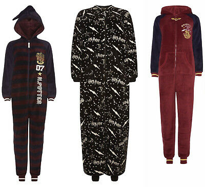 Bnwt Primark Harry Potter Gryffindor All In One Pyjamas Hogwarts Ladies