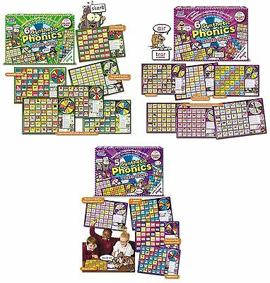 Smart Kids Synthetic Phonics Phase 3 - 5 Educational Board Games Brand New