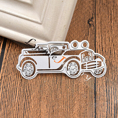 Auto Car Cutting Dies Stencil for DIY Scrapbooking Paper Craft Card Album Making