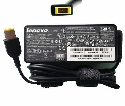 Genuine Lenovo IDEAPAD G50-30 Laptop Charger AC Adapter Rectangle USB Power Cord
