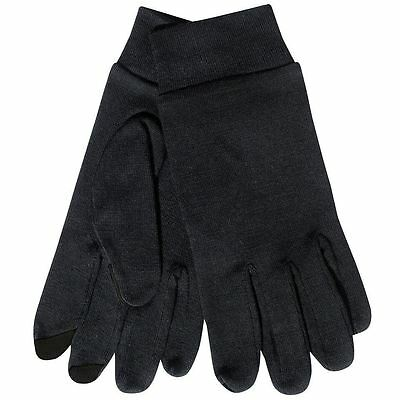 Extremities Merino Touch Liner Glove Black Large