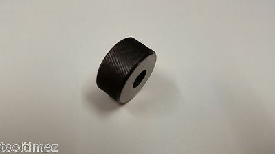 "High Speed Spare Knurling Wheel Replacement Knurls lathe 3/4"" FINE LEFT HAND"