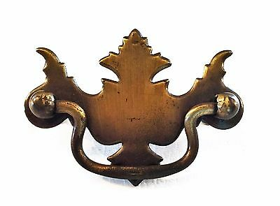 "Gorgeous..Chippendale Antique Drawer Pull ...antique hardware 2 1/2 ""inch center"