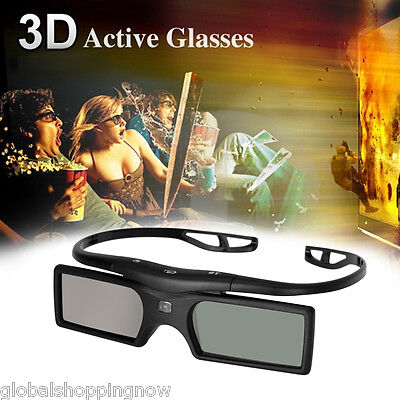 Bluetooth Active Shutter 3D Glasses for Panasonic Samsung 3D TV New Universal