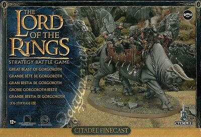 Great Beast Of Gorgoroth - The Hobbit Lord Of The Rings Lotr - Games Workshop