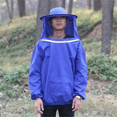Beekeeping Jacket and Veil Bee Dress Smock Equip Professinal Protecting Suit Bee