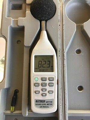 Extech 407738 Sound Level Meter with Memory