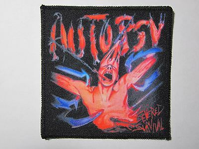 AUTOPSY Severed Survival NEW patch death metal