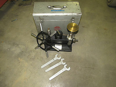 Amthor 470 Dead Weight Pressure Tester Range 10000Psi ***as Is***