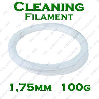 eSun CLEANING Reinigungsfilament 100g 1,75mm Filament Makerbot RepRap E3D CTC