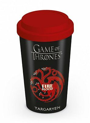 New Official Game Of Thrones (House Targaryen) - Travel Mug By Pyramid Mgt22870