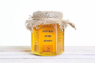 250g/8 Oz Natural Raw Honey -100%Natural ,Pure ,Organic -Land of Honey-