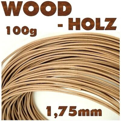 HOLZ WOOD BAMBUS 1 1,75mm Filament Makerbot Ultimaker RepRap E3D Flashforge CTC