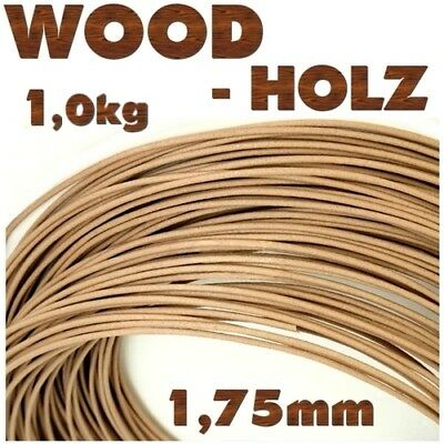 HOLZ WOOD BAMBUS 1,75mm Filament Makerbot Ultimaker RepRap E3D Flashforge CTC