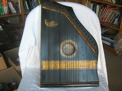 Antique The Columbia No. 2 and a quarter Zither Special by Phonoharp Co.