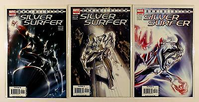 Annihilation Silver Surfer Marvel Lot Of 3 Comics #1 2 3 (Vf/nm)