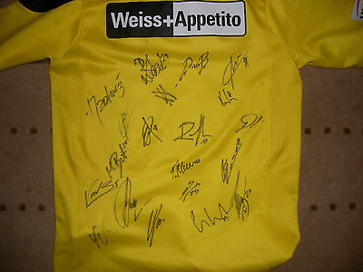 YOUNG BOYS BERNE football shirt..fully signed...youth/small...