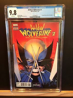 Marvel All New Wolverine  #1 Cgc 9.8! First Appearance Of New Wolverine!!!!