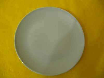 """BRANKSOME BLUE TEA/SIDE PLATES ,dia 6.5"""" approx, used, 1xplate has darker colour"""