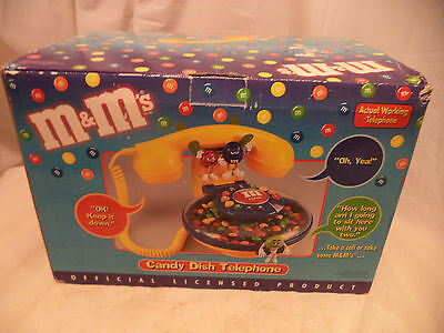 M&M'S Candy Dish Telephone In Box