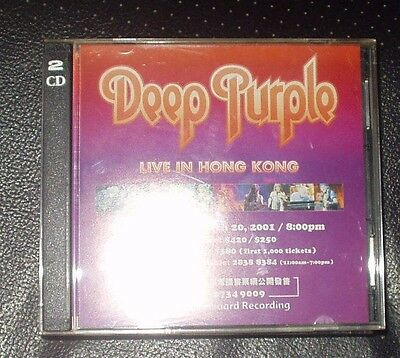Deep Purple Live Hong Kong  2001 2Cds