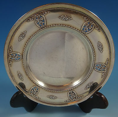 Rose Point by Wallace Sterling Silver Dessert Plate #4640-9 (#1319)