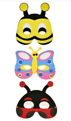 24pc MASKS SUPERHERO kids Party birthday bag toy costume fancy dress