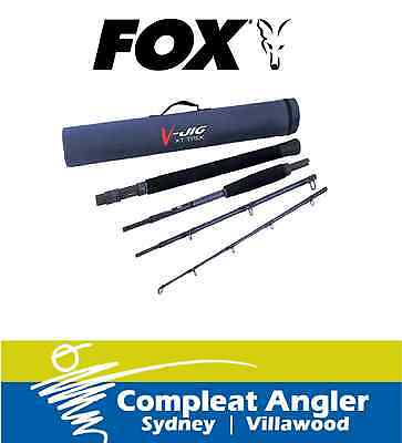Fox V-Jig 663 500-700g Telescopic Fishing Rod BRAND NEW At Compleat Angler