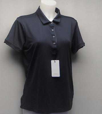 New Ladies Size US 10/LARGE PING Elva  short sleeve navy polo golf shirt