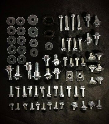 90pc BOLT KIT FOR PLASTICS HONDA CRF150R CRF250R CRF450R CRF250X CRF450X