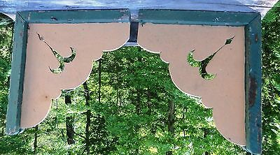 Victorian Corbels from a Painted Lady in Eureka Springs, Arkansas, Truncated