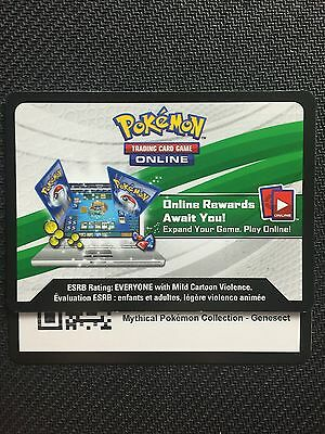 Pokemon Mythical Genesect XY119 Box TCGO Online Code (Generations Booster x2)