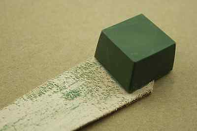 Green Rouge Abrasive Polishing Paste Buffing Compound Metal Grinding NEW