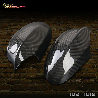 For BMW E91 E90 100% Real Carbon Fiber Rear view Side Mirror Cover 2005-2008