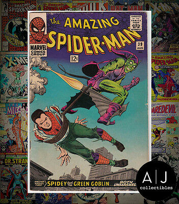 The Amazing Spider-Man #39 (I Marvel M) VG - FN! HIGH RES SCANS!