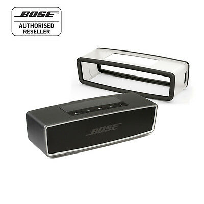 Bose Soundlink Mini ii Series 2 Bluetooth speaker BLACK & Bose Black Soft cover
