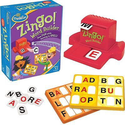 Zingo Word Builder Board Game Gifts Educational Toys Children Kids By Thinkfun