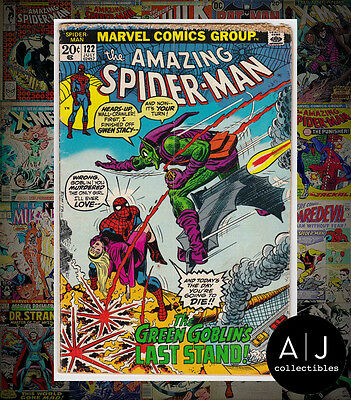 The Amazing Spider-Man #122 (I Marvel M) GD! HIGH RES SCANS!