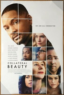 COLLATERAL BEAUTY MOVIE POSTER 2 Sided ORIGINAL Ver B 27x40 WILL SMITH