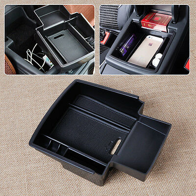 Console Armrest Insert Storage Box Container Tray Bin For Audi Q5 2008-2013 2014
