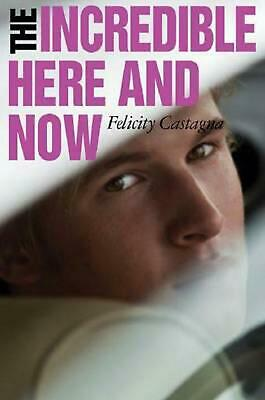 The Incredible Here and Now by Felicity Castagna Paperback Book Free Shipping!
