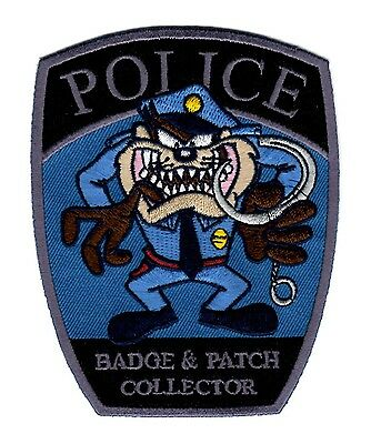 Police Collector Social Patch, Police, Law Enforcement