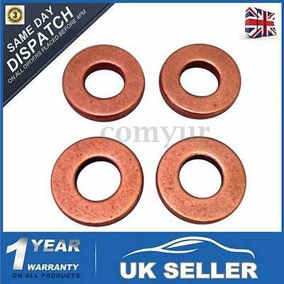 WASHER SEAL FOR FORD TRANSIT MK7 2.2 2.4 TDCi COMMON DIESEL INJECTOR COPPER -UK