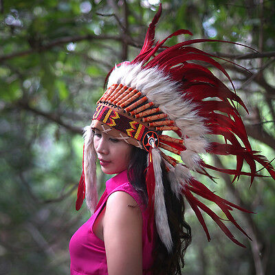 INDIAN HEADDRESS,Indian Costume, Native American, Chief Warbonnet