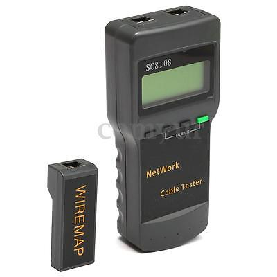 SC8108 Cat5 RJ45 Network LAN Cable Tester Tracker Telephone 8 Far End Test Jack