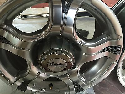 USED Mag Wheels, Set of 4 - TOYOTA HIACE COMMUTER