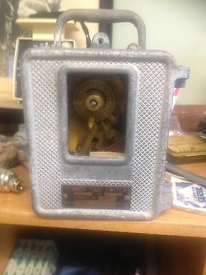 Venner Time Switch Industrial Steam Punk One Handed Mantle Clock.