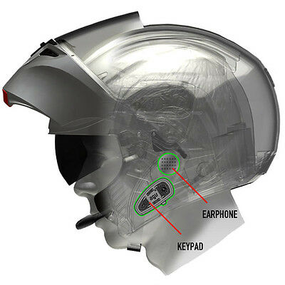AGV Share Easy Bluetooth Communication System Side Fitment
