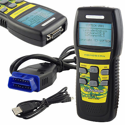 New U581 Car Diagnostic Scanner CAN OBD2 EOBD Scan Tool Engine Fault Code Reader