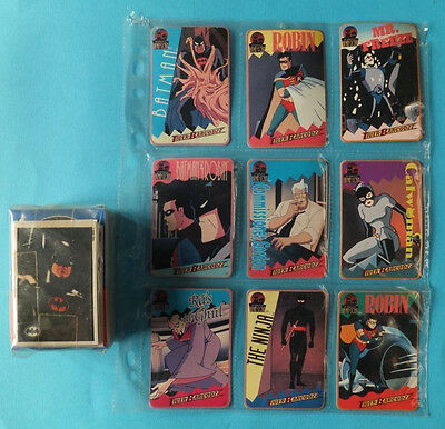 Vintage Sealed Batman Returns 1992 88 Cards and 10 Stickers /Tiger Sky Box Cards